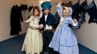 Victorian Dress up Fashion Museum Bath reviews kidrated attractions outside london uk